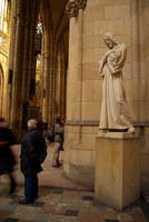Statue of Christ in St Vitus Cathedral