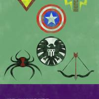 The Avengers Art Prints & Posters by Alex Drinan