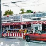 """""""Cape Cod Art, Watercolor Landscape Art, Wellfleet"""" by schulmanart"""