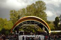 Cuthbert Amphitheater and Rainbow