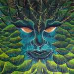 """Green Man"" by ginster"