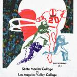 """Santa Monica City College Football Game -"" by floppypoppygifts"