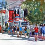 """""""Provincetown Cape Cod Landscape Street Scene"""" by schulmanart"""