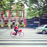 """""""Red cyclist"""" by keithtsuji"""