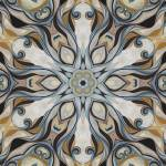 """Baroque Earth tones Rosette- R107"" by HeidiVaught"