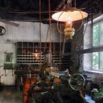 """Machine Shop With Lantern"" by susansartgallery"