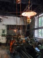 Machine Shop With Lantern