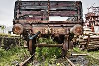 Derelict Coal Wagon