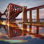 """Forth Rail Bridge"" by ianjeffrey"