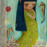 """""""Una Sirenita (A Little Mermaid)"""" by danitaart"""