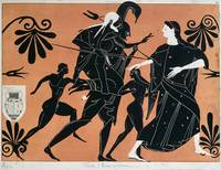Scene from an ancient Greek vase