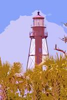 Sanibel Lighthouse cutout