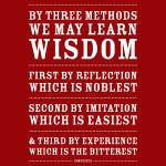 """Three Ways to Wisdom • Red"" by Logophilia"