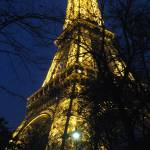 """Eiffel Tower at Night"" by alissaj"