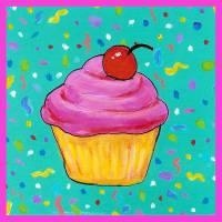 Cupcake Art Prints & Posters by Jennifer Partrite