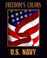 FREEDOM'S COLORS U.S.NAVY