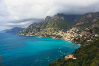 Amalfi Coast Scenic Vista at Positano
