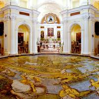 Main Altar and Maiolica Floor