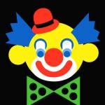 """Clown - Art Gallery Selection"" by Lonvig"