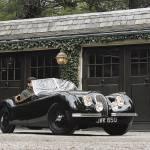 """""""1950 Jaguar XK120"""" by roadandtrackphotos"""
