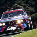 """BMW CSL at Nurburgring 1974"" by roadandtrackphotos"