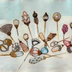 """Victorian Hat Pins"" by lisahildebrant"