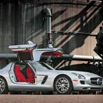 """2010 Mercedes Benz SLS"" by roadandtrackphotos"