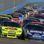 """Chevy leads the pack at the Phoenix 2009"" by roadandtrackphotos"