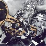 """Louis Armstrong"" by NateWilliams"