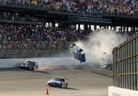 Carl Edwards flies at Talladega 2009