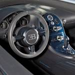 """2011 Bugatti Veyron Super Sport Steering Wheel"" by roadandtrackphotos"