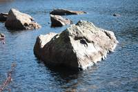 Mountain Lake Rocks