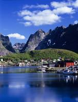 Norwegian Harbor, Lofoten Islands