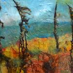 """""""Windswept Pines"""" by artbyclaire"""