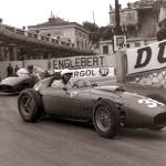 """Ferrari 246 at Monaco 1960"" by roadandtrackphotos"