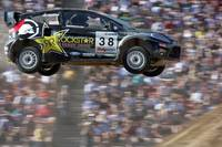 Ford Fiesta flies at the X Games 2006