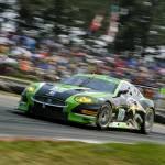 """Jaguar XKR ALMS GT 2011"" by roadandtrackphotos"