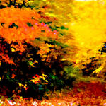 """Autumn Abstract Colors"" by waynelogan"
