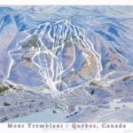 """Mont Tremblant Ski Resort"" by jamesniehuesmaps"