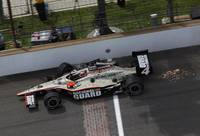 Indianapolis 500 final turn last lap 2011