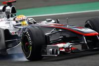 McLaren MP4 26 at the German GP 2011
