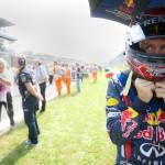 """Sebastian Vettel at the Italian GP 2011"" by roadandtrackphotos"