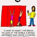 """Handstands"" by gymnasticscartoons"