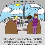"""Flight Skills"" by gymnasticscartoons"