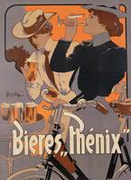 Poster advertising Phenix beer