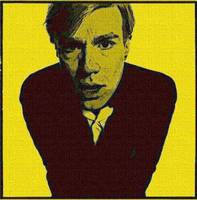 WARHOL IN YELLOW AND BLACK