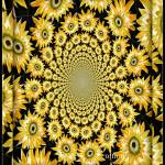 """Sunflower Ceiling"" by fancifulflowers"
