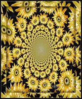 Sunflower Ceiling