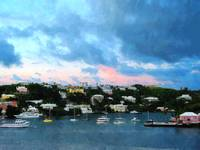 King's Wharf Bermuda Harbor Sunrise