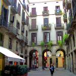 """courtyard(Barcelona Spain)"" by cripto"